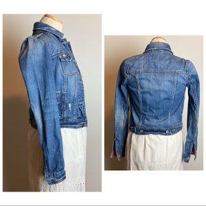 Aeropostale Jackets & Coats - Distressed Aeropostale Jean Jacket Size XS/TP